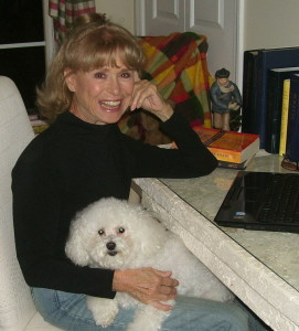 Bette Lee Crosby with Her Dog, Katie
