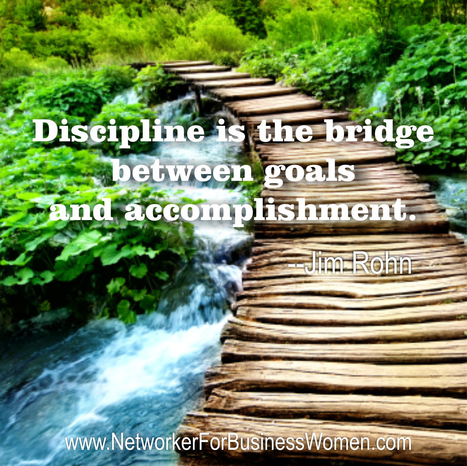 th has always been like the start of a new year for me discipline is the bridge between goals and accomplishment quote